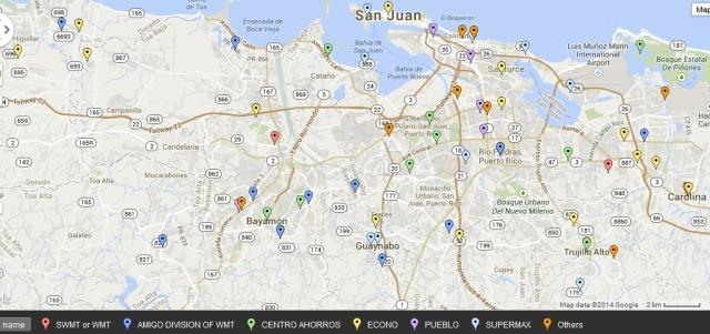 Puerto Rico all grocery stores metro san juan