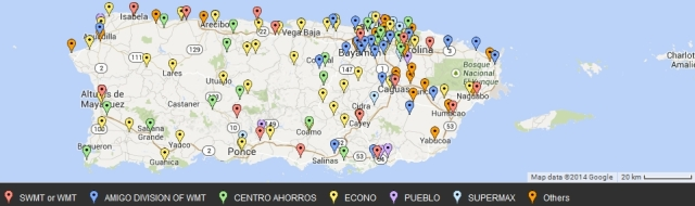 Puerto Rico all grocery stores
