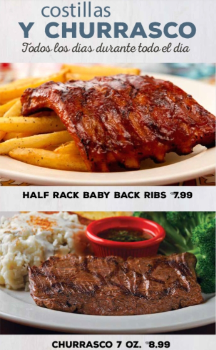 chilis daily specials ribs or steak