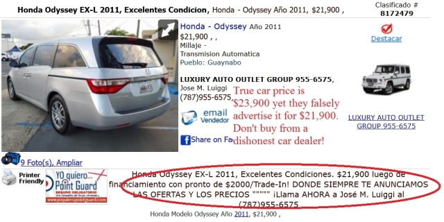 Luxury Auto Outlet Group, Guaynabo PR