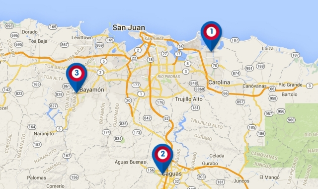 Chuck E. Cheese's restaurant locations in Puerto Rico | Puerto Rico on