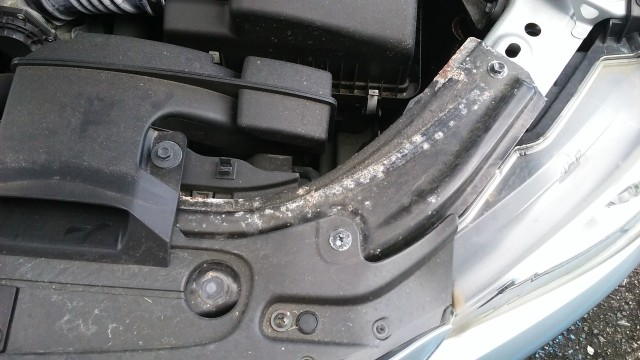 Mazda radiator frame rusting with less than 5000 miles, Tonito Mazda won't honor warranty to fix it