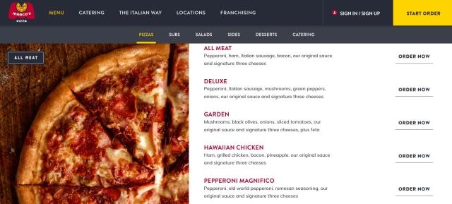 pr marcos pizza